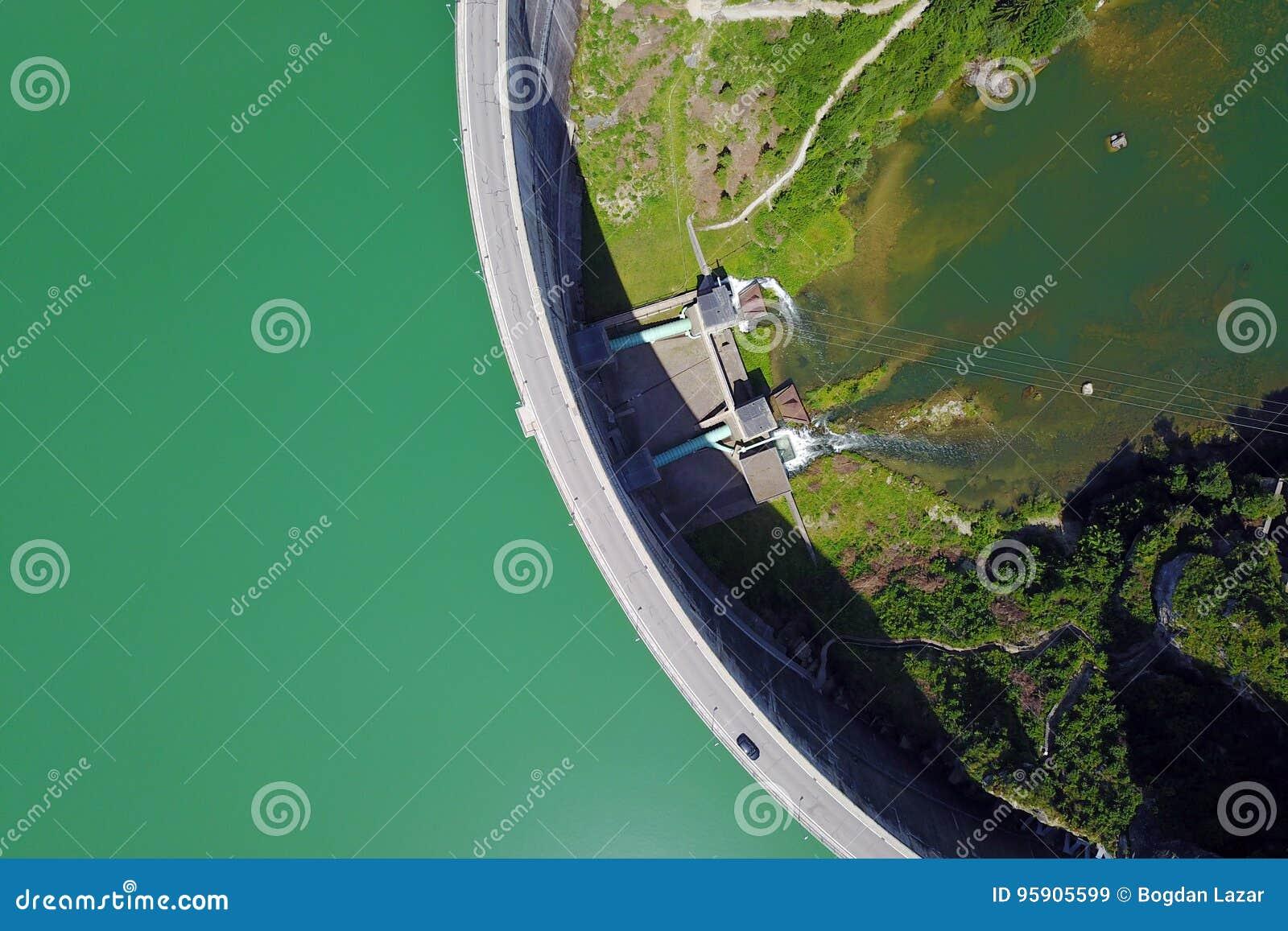 Rossens Dam, Switzerland