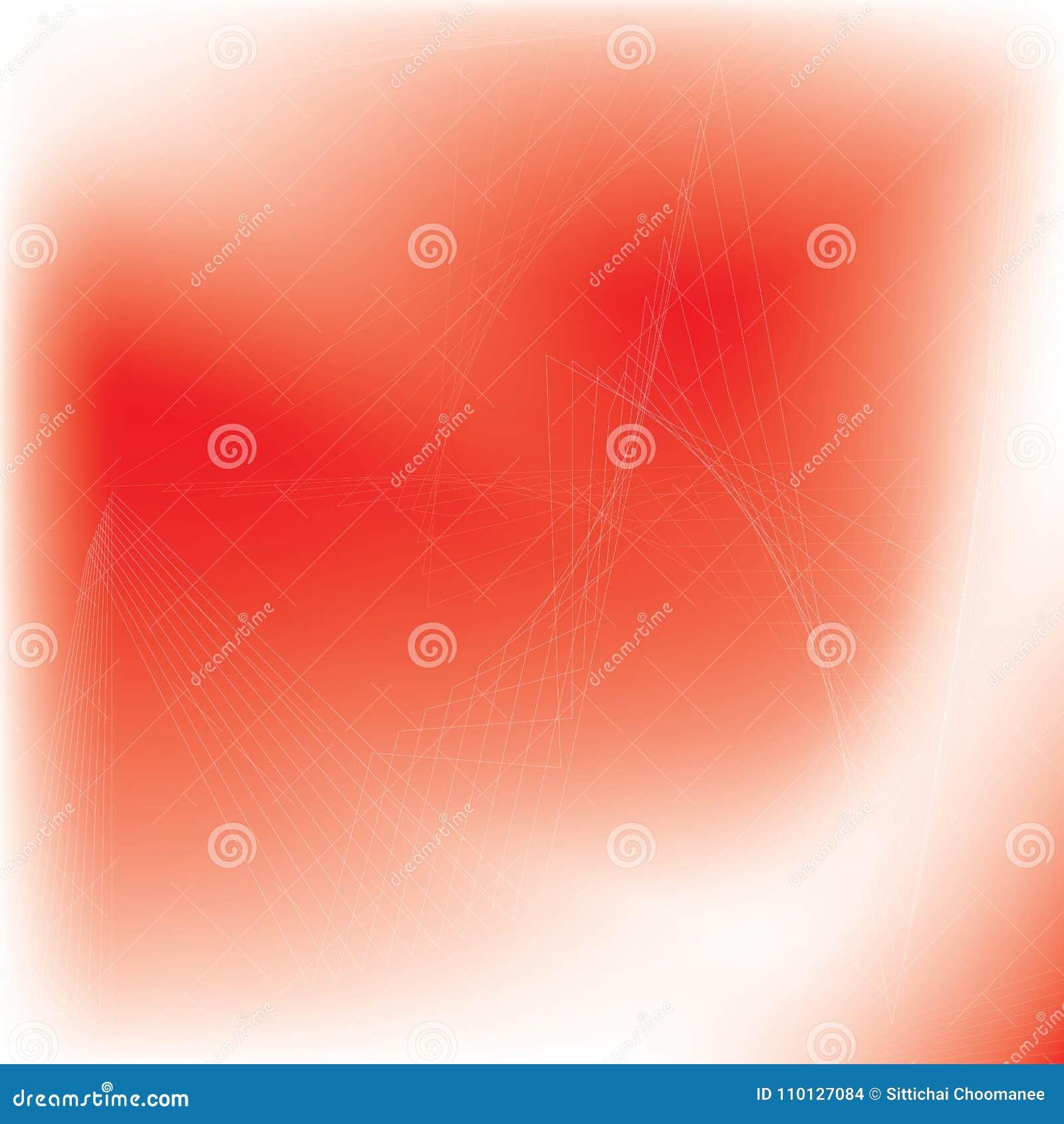 Rosso e bianco astratti del fondo