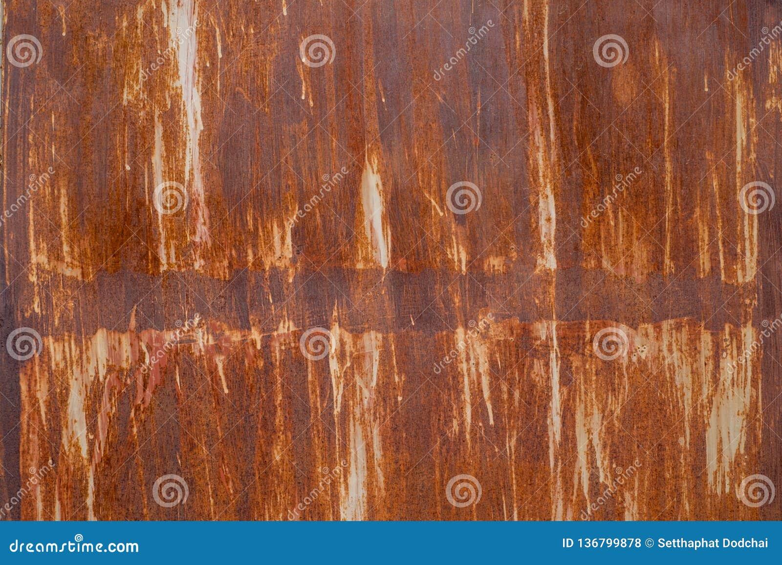 Rostad metalltextur och bakgrund