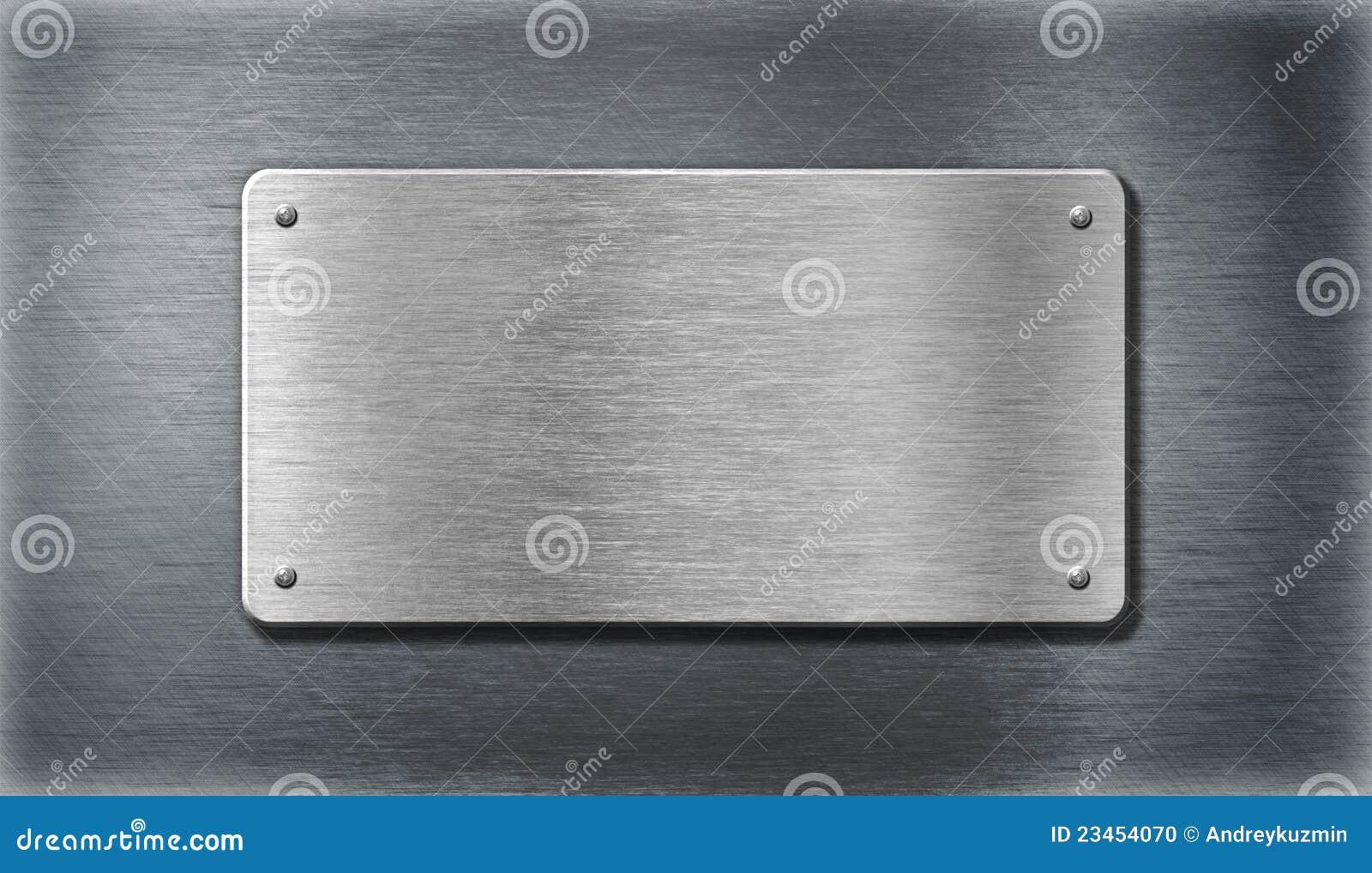 Rostfritt stål för silver för metallplattor