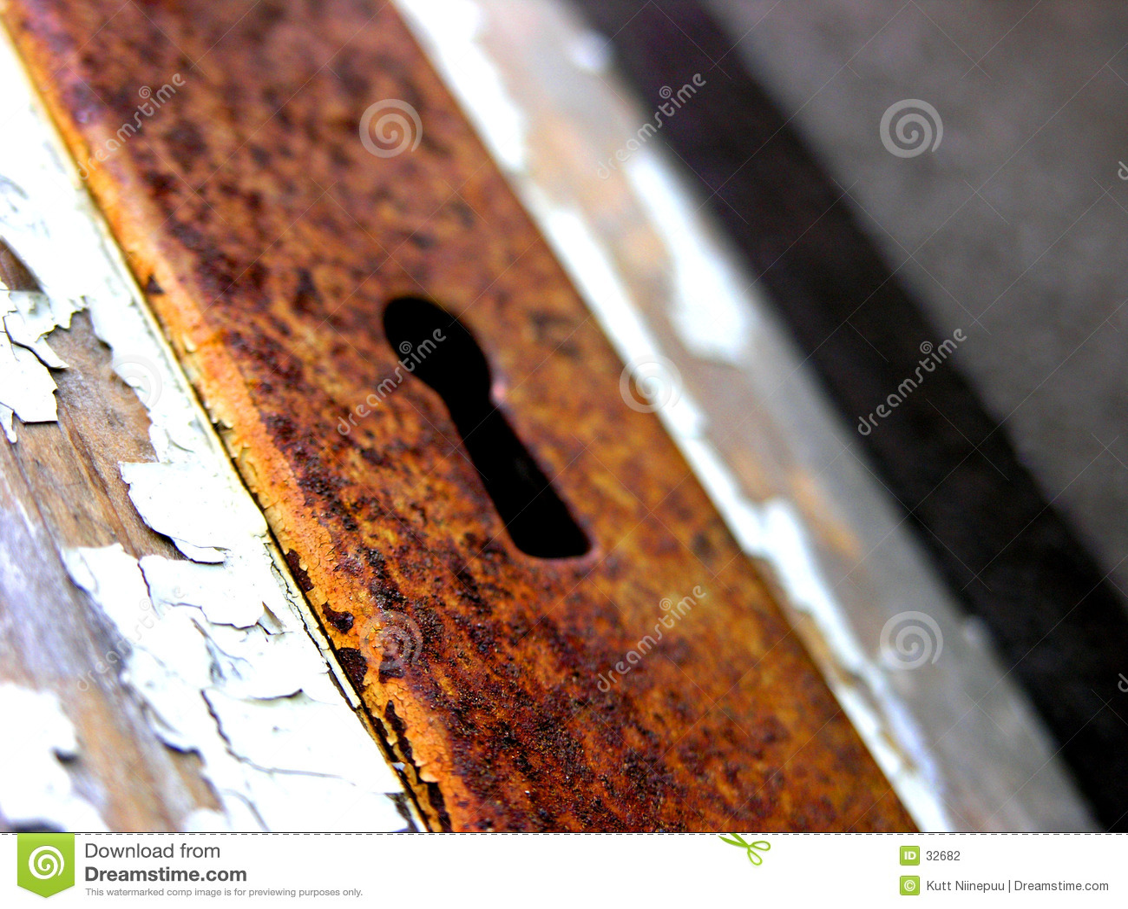 Rostig keyhole