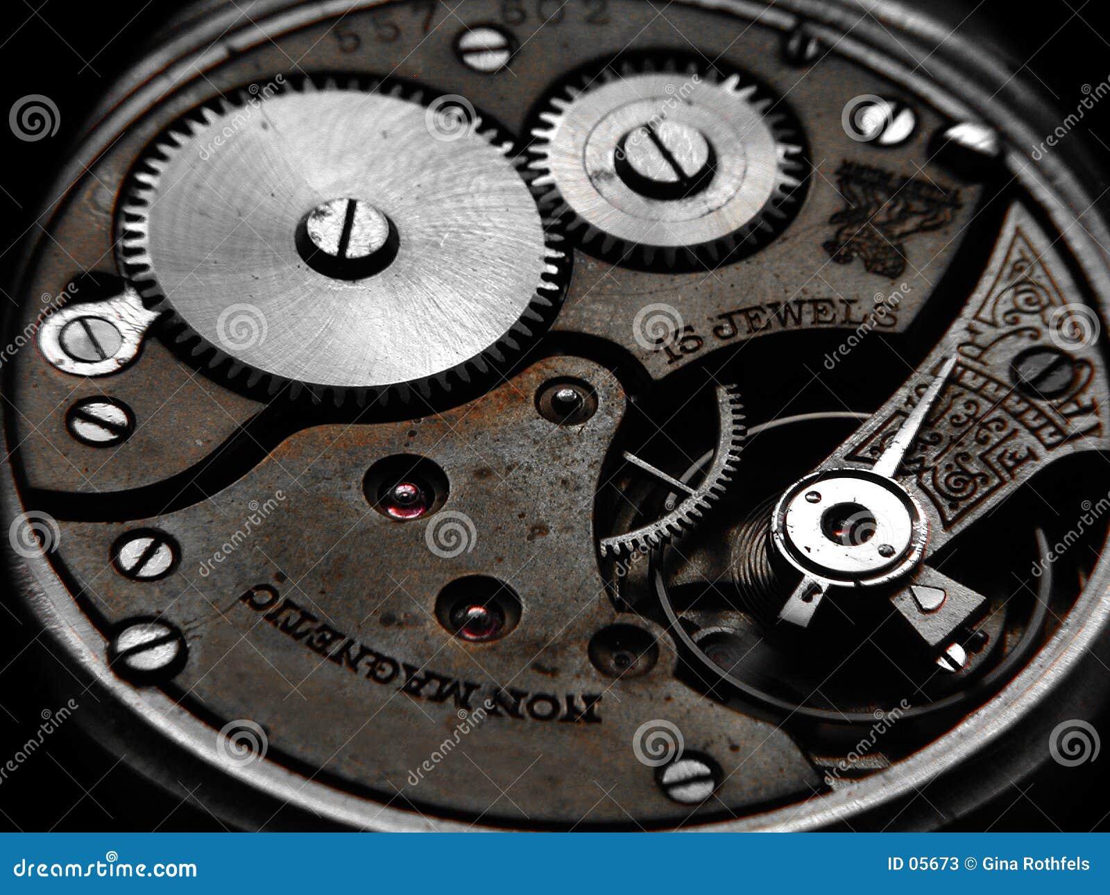 Rostige Uhr
