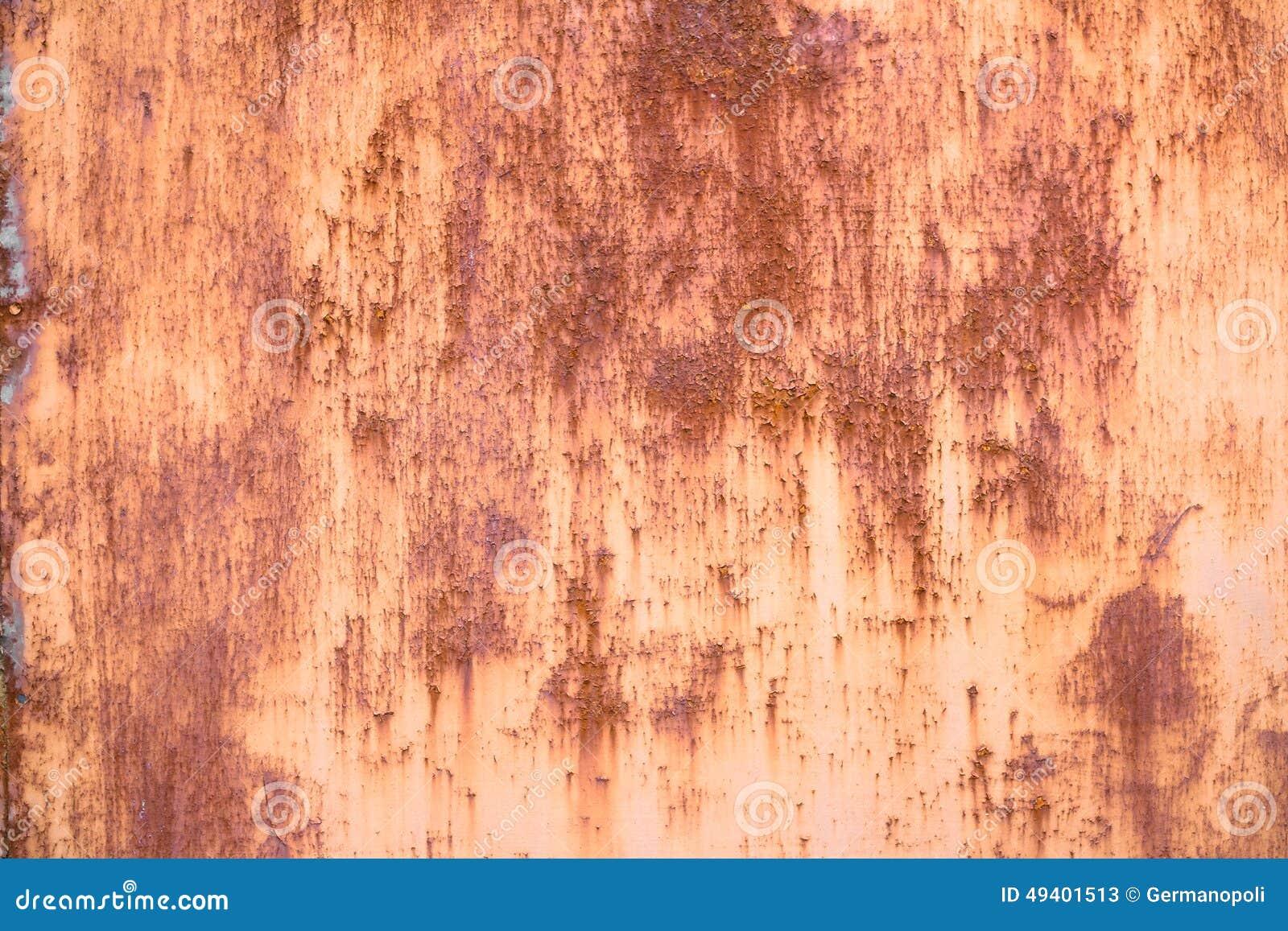 Download Rostiger Hintergrund stockbild. Bild von stahl, material - 49401513