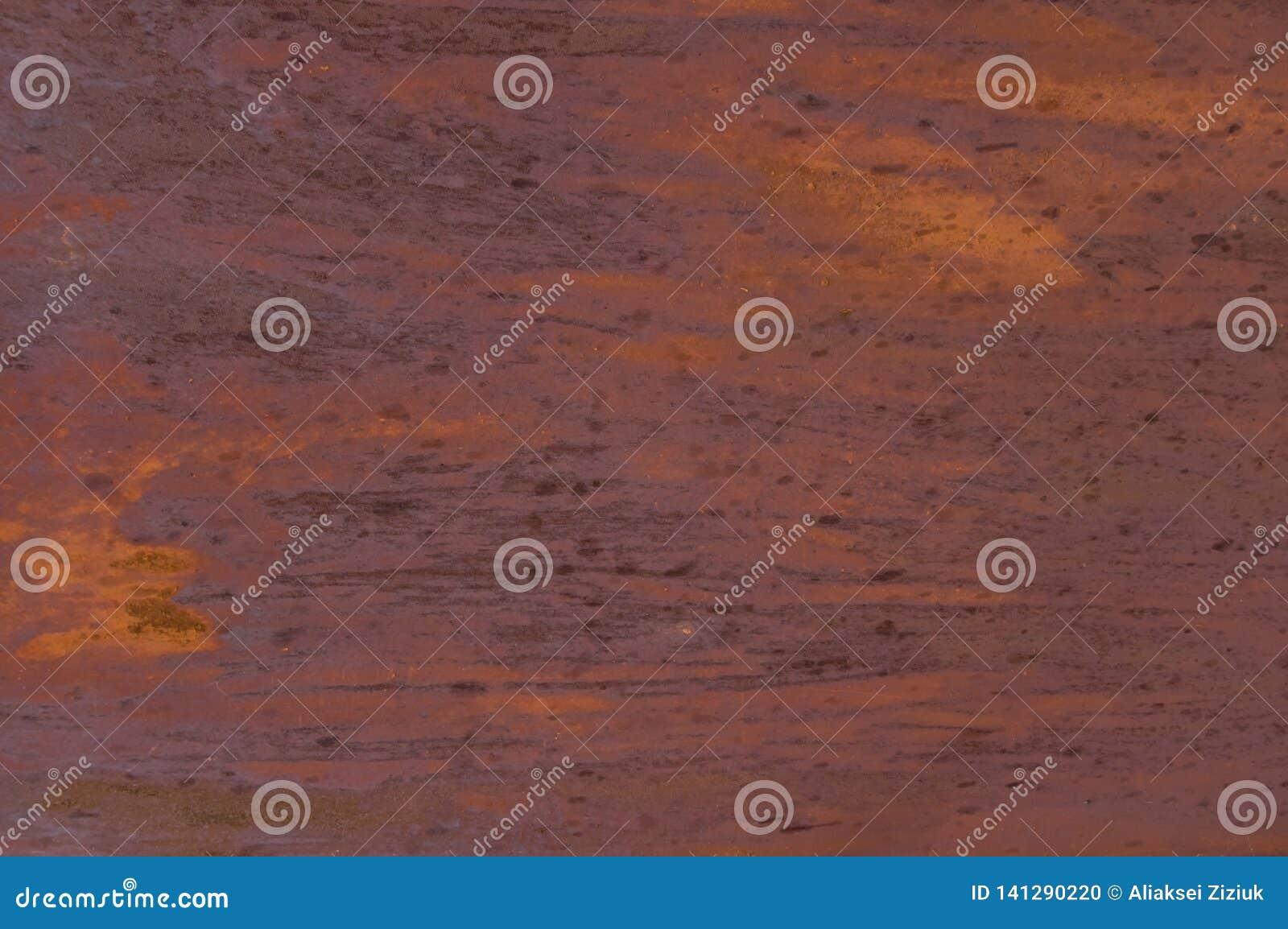 Rostigt metallark för bakgrund