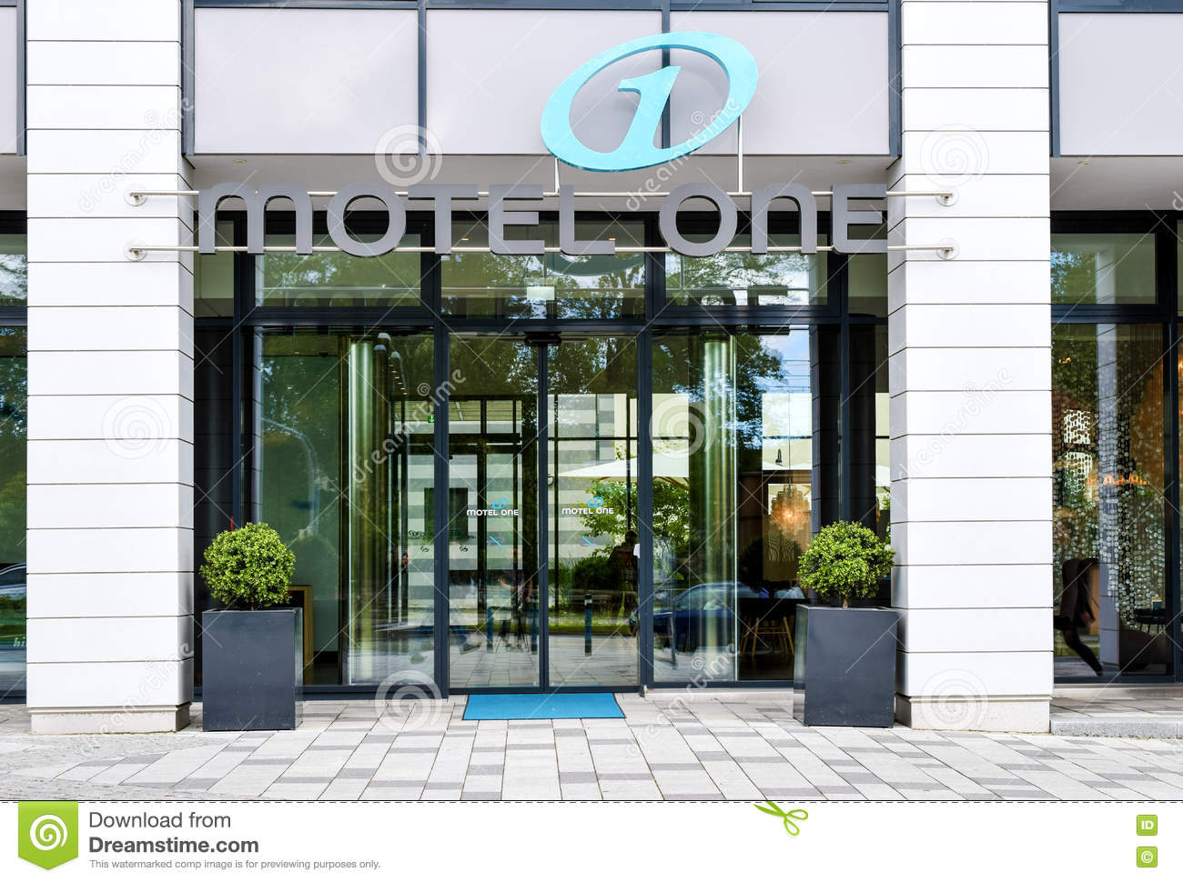 Rostock germany august 22 2016 motel one low budget for Low budget hotel