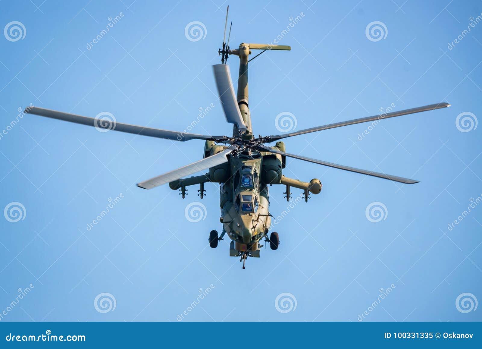 ROSTOV-ON-DON, RUSSIA - AUGUST, 2017: Mi-28 Havoc