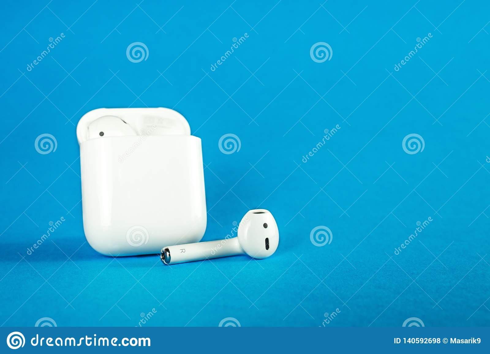 new arrival 2697b 7137c ROSTOV-ON-DON, RUSSIA - February 24, 2019: Apple AirPods Wireless ...