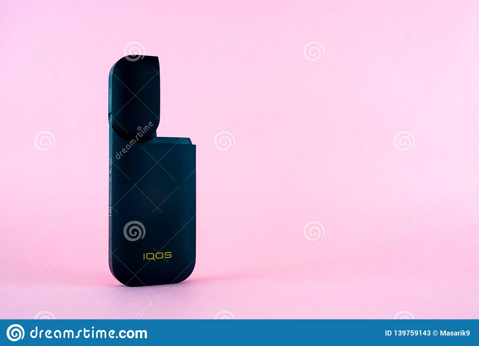ROSTOV-ON-DON, RUSSIA - January 03, 2019: Newest IQOS
