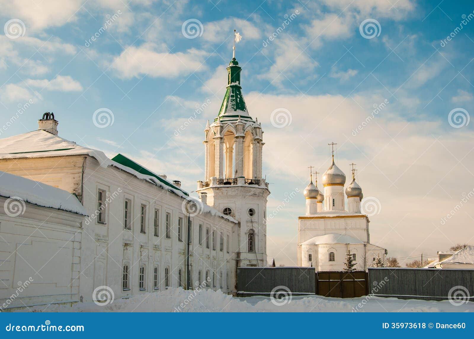 Rostov Veliky en invierno
