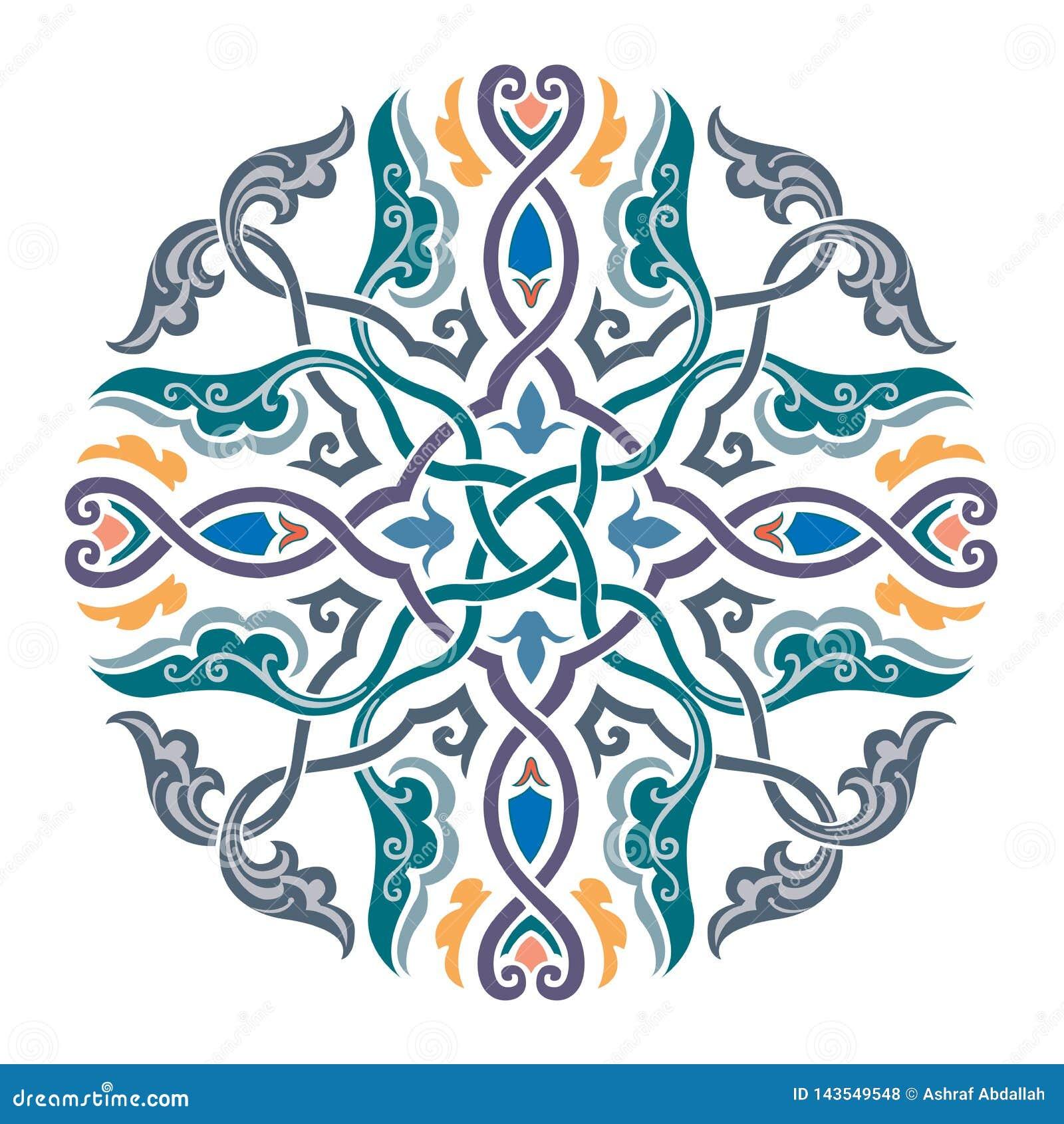 Rosyjskiego celta Orientalny ornament - ilustracja projekty