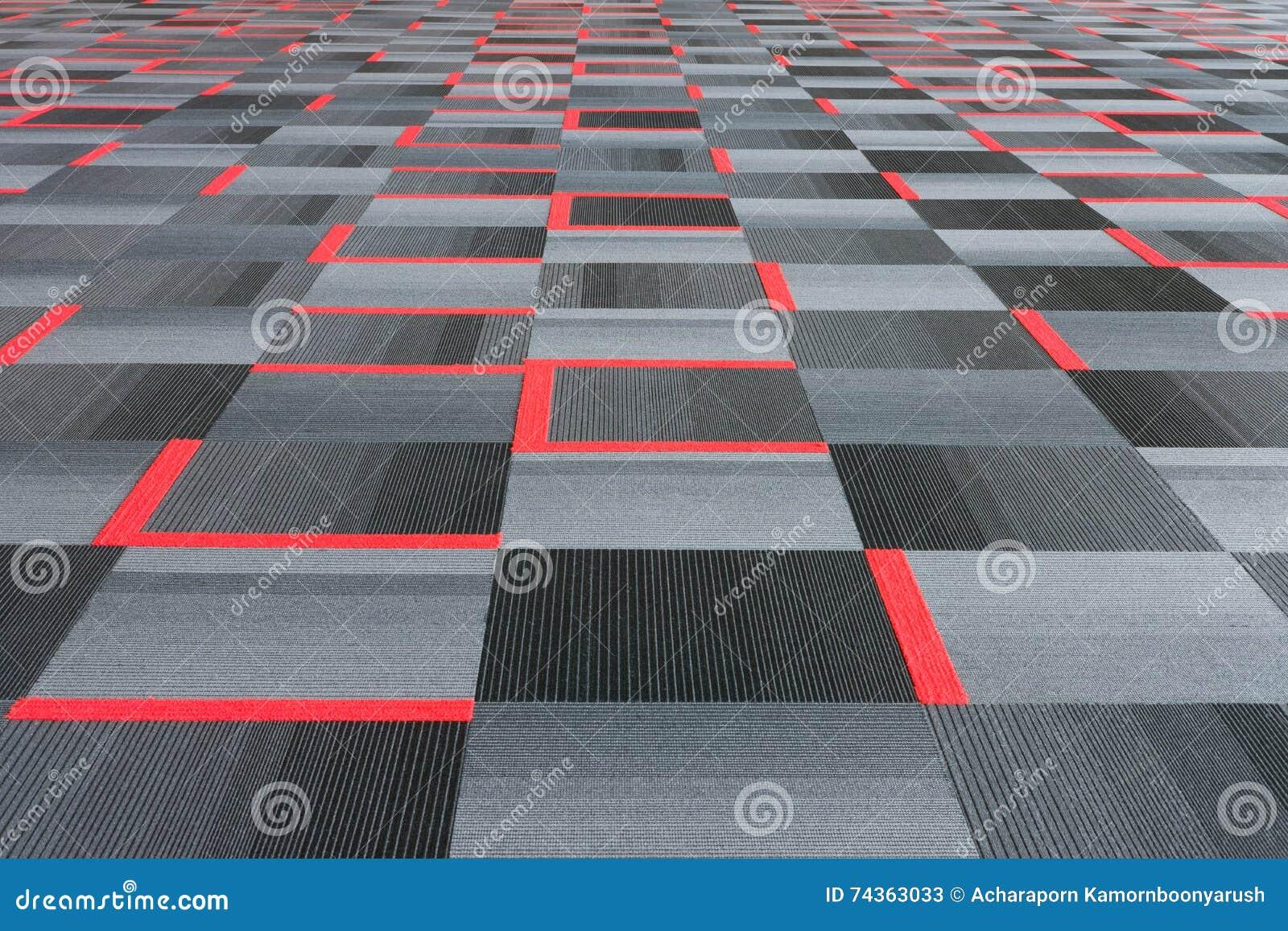 Rot Mit Grauem Teppich Stockbild Bild Von Beschaffenheit 74363033