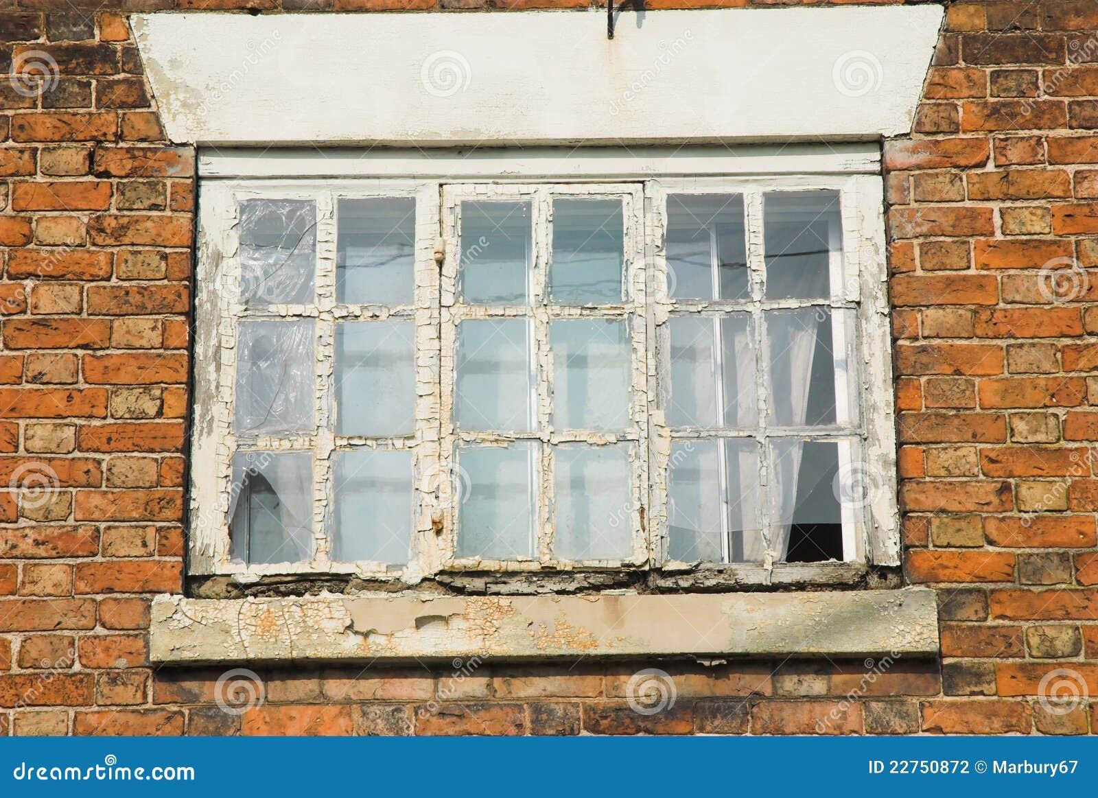 Rot Raamkozijn Stock Foto Afbeelding Bestaande Uit Glas