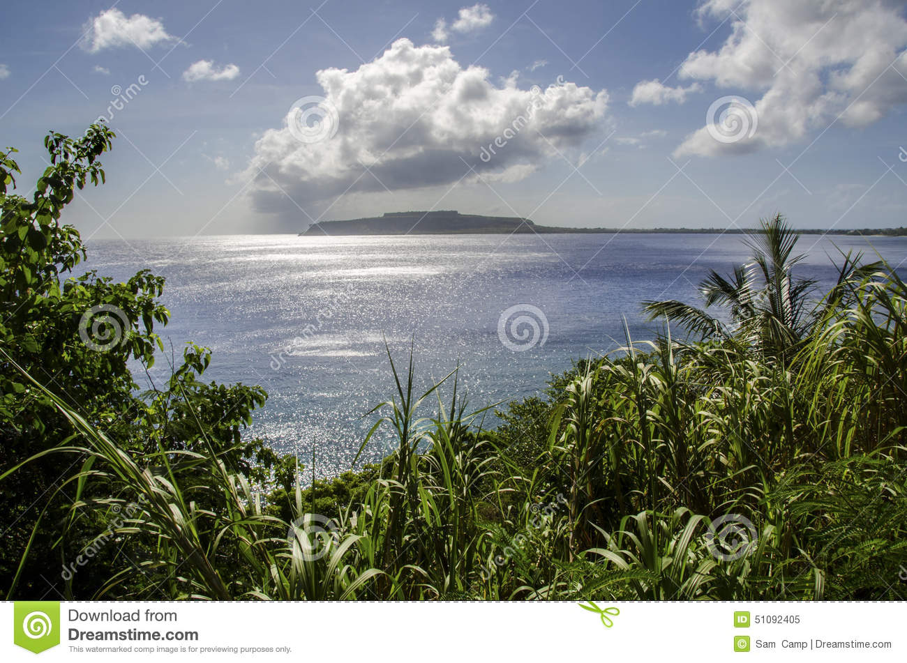 Rota Northern Mariana  city pictures gallery : Tropical island in the Northern Mariana Islands, Micronesia.