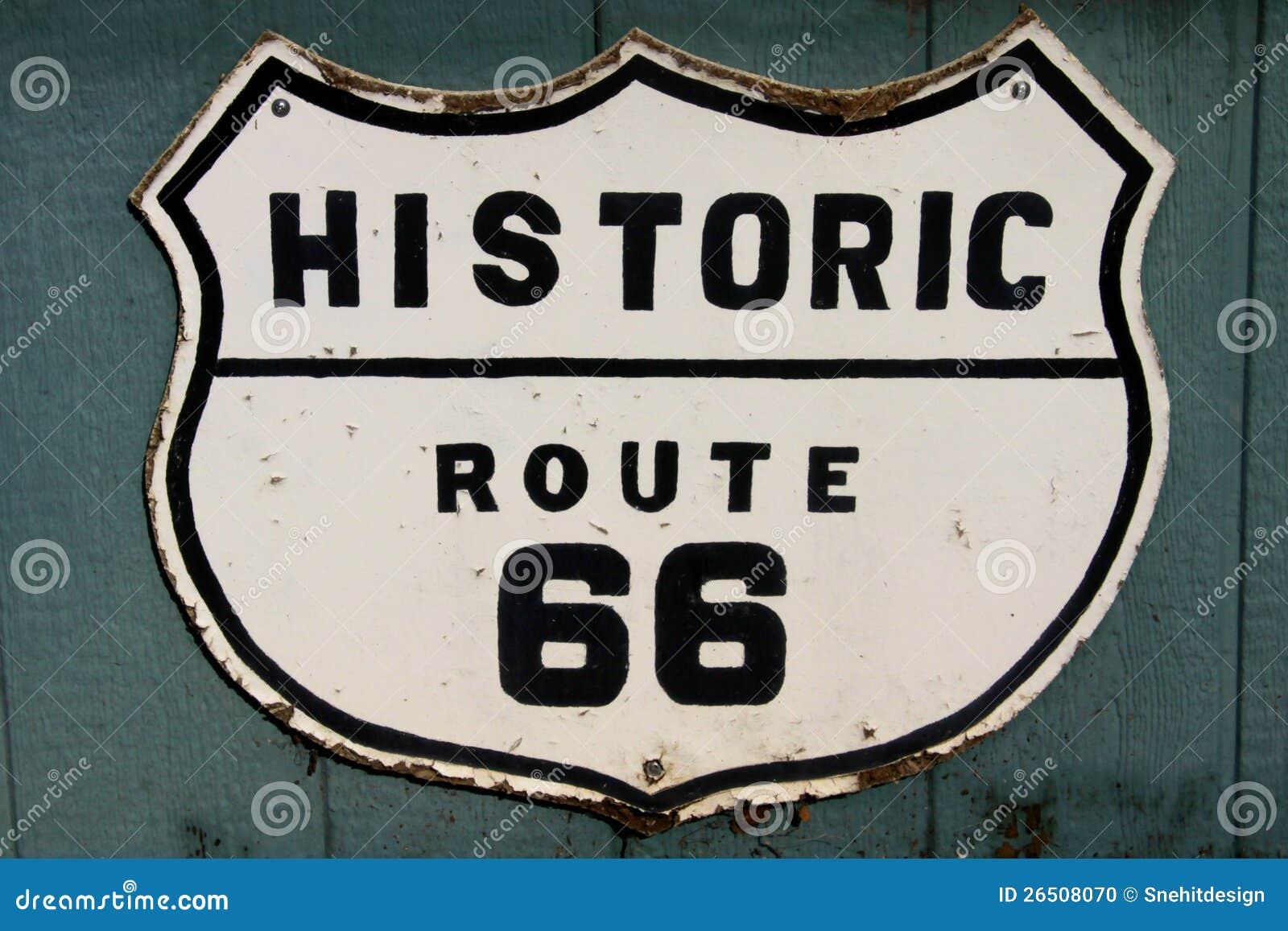 Rota histórica 66