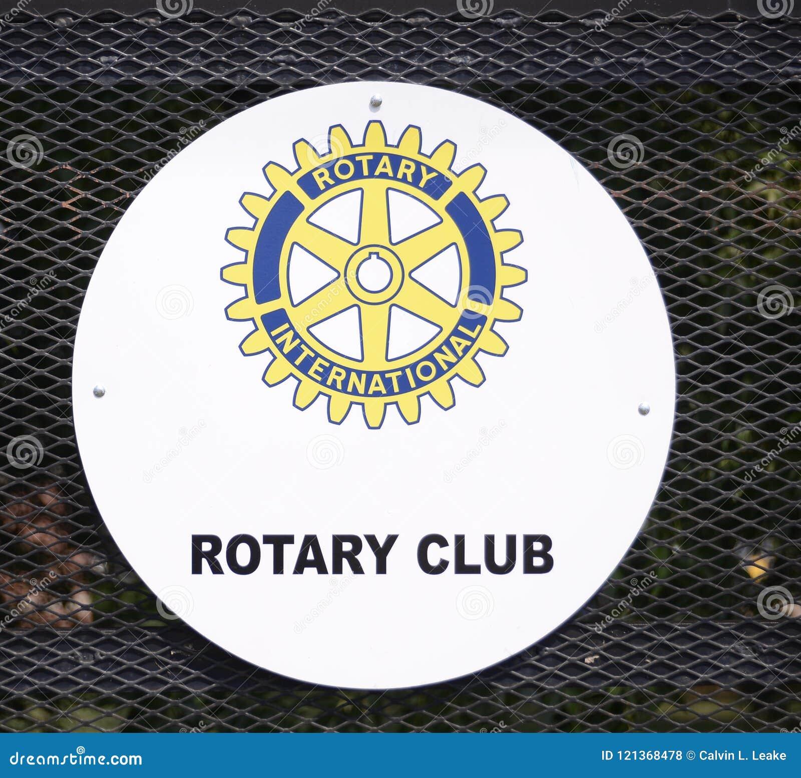 Rotary International Club Logo Editorial Stock Photo Image Of