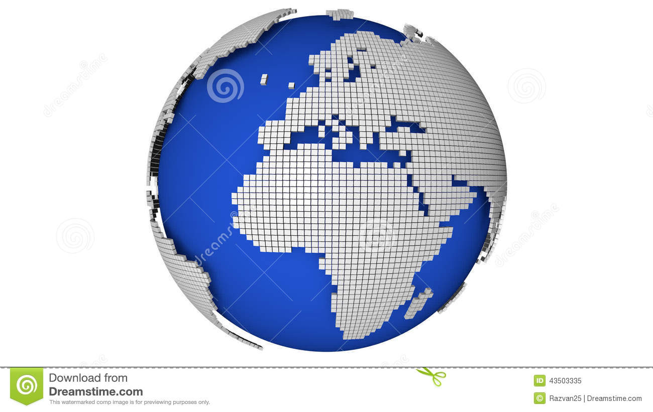 Rotate dotted globe stock video illustration of channel 43503335 gumiabroncs Gallery