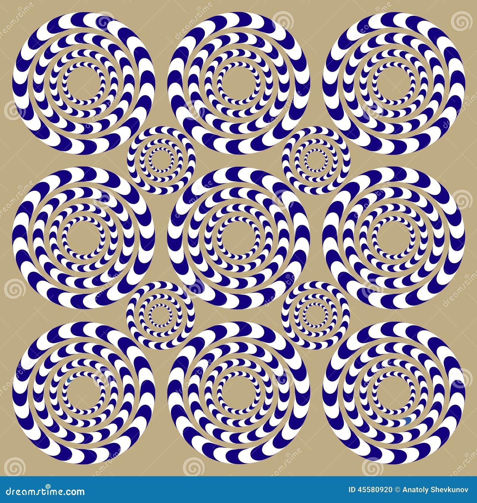 Rotatiecirkels (Illusie)