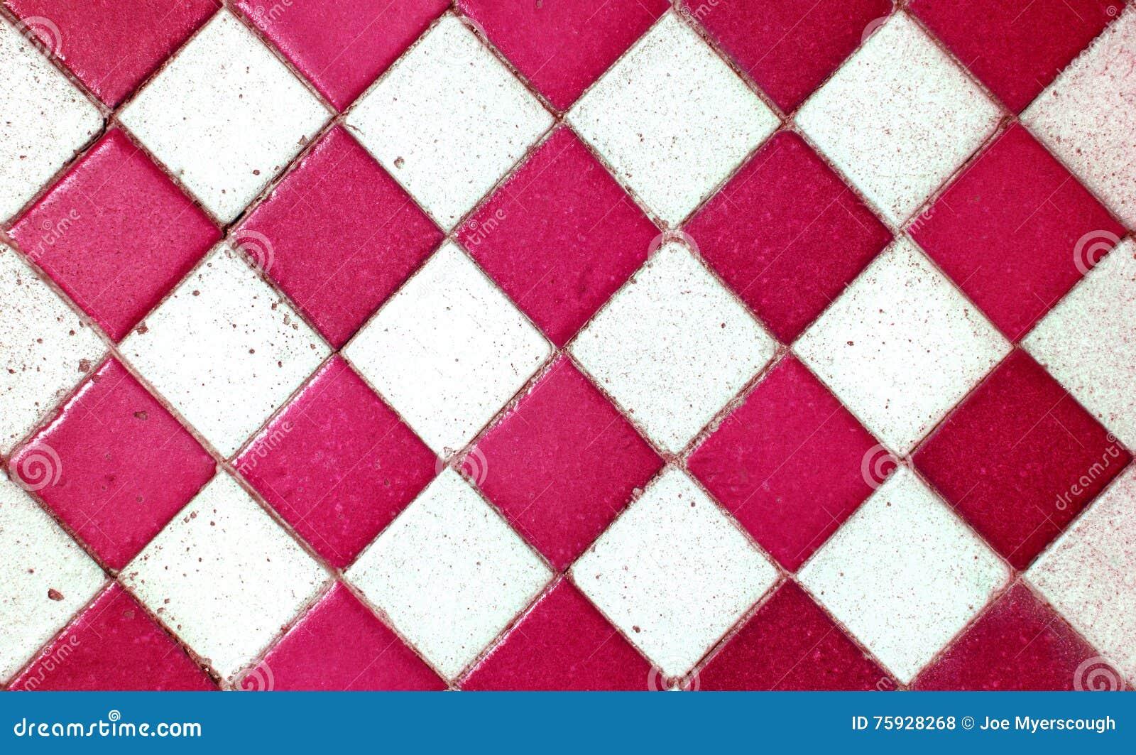 rote alte muster quadrat fliesen beschaffenheit boden. Black Bedroom Furniture Sets. Home Design Ideas