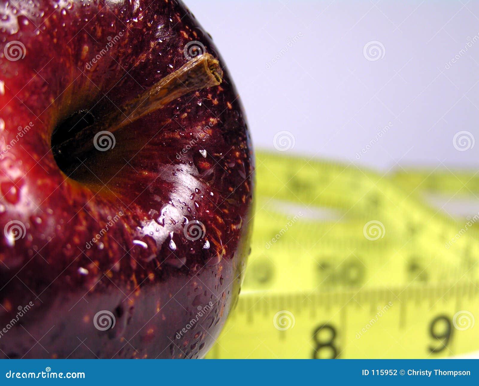 Rote Apfeldiät