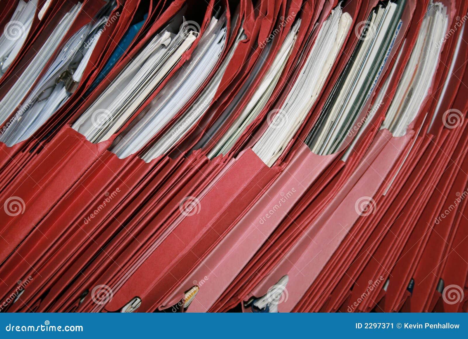 Rote Dateien
