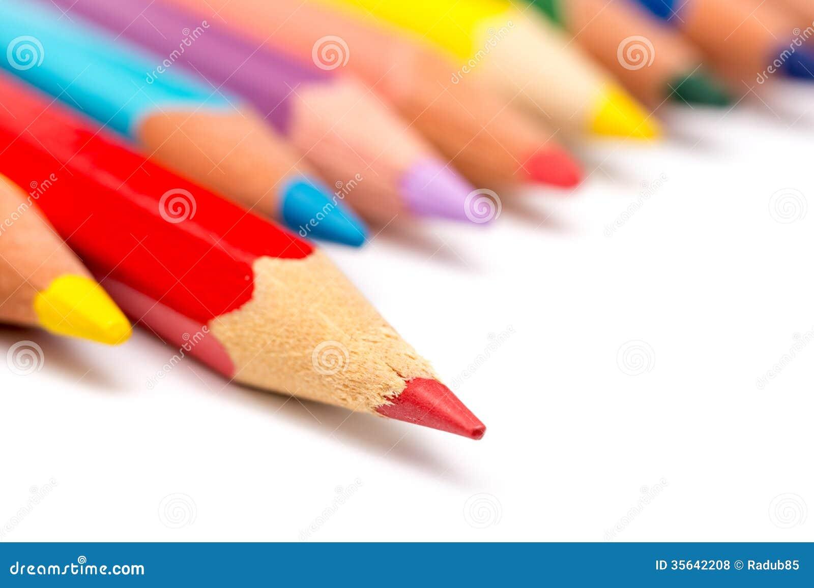 82c2140c09e7 Rote Farbton-Bleistift-Steigerung Stockfoto - Bild von ...