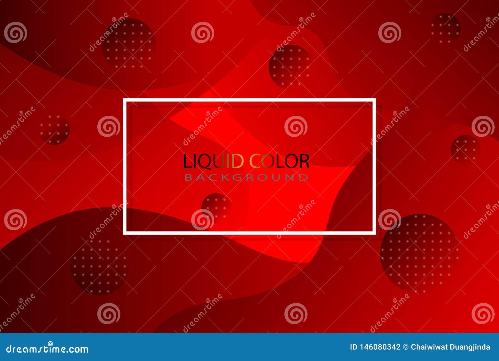 Rote flüssige Farbe als Hintergrund