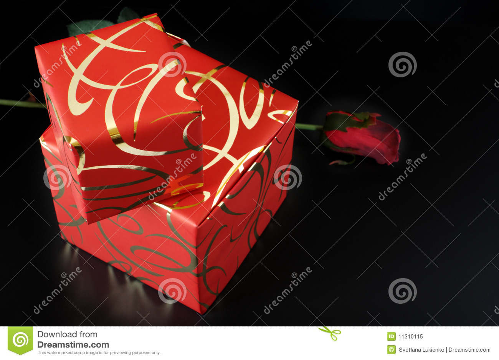 Rote Geschenke