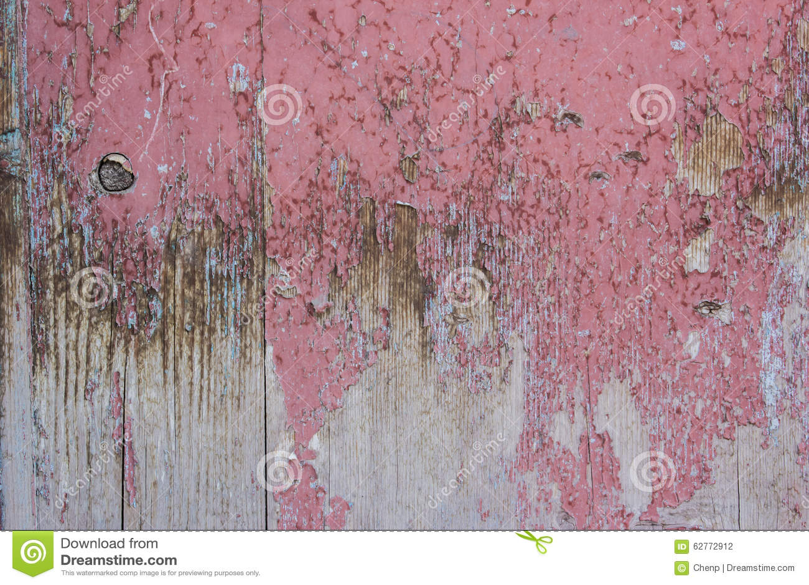 Rote Graue Farbe Gesprenkelte Holztüren Stockfoto - Bild: 62772912