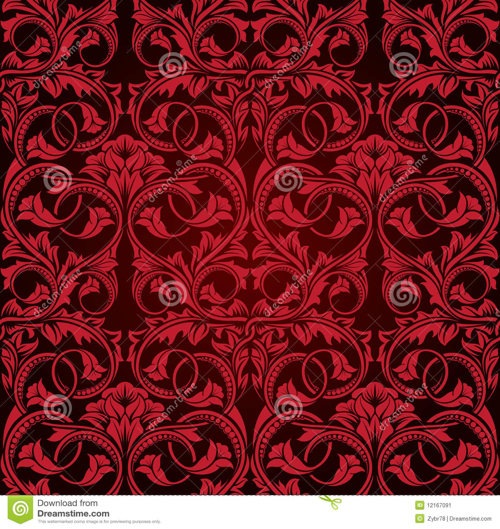 rote nahtlose tapete vektor abbildung illustration von