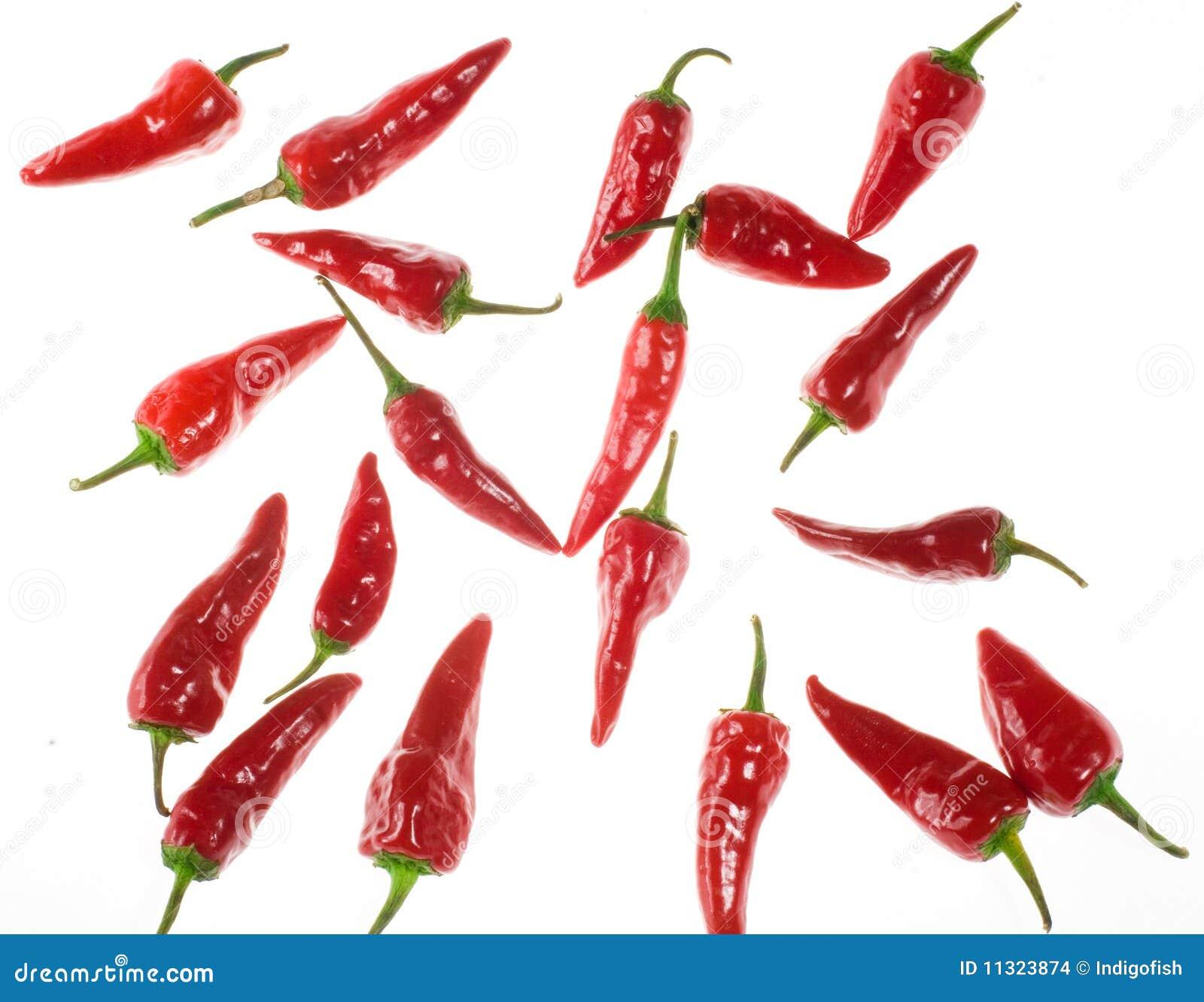 Rote Paprikas