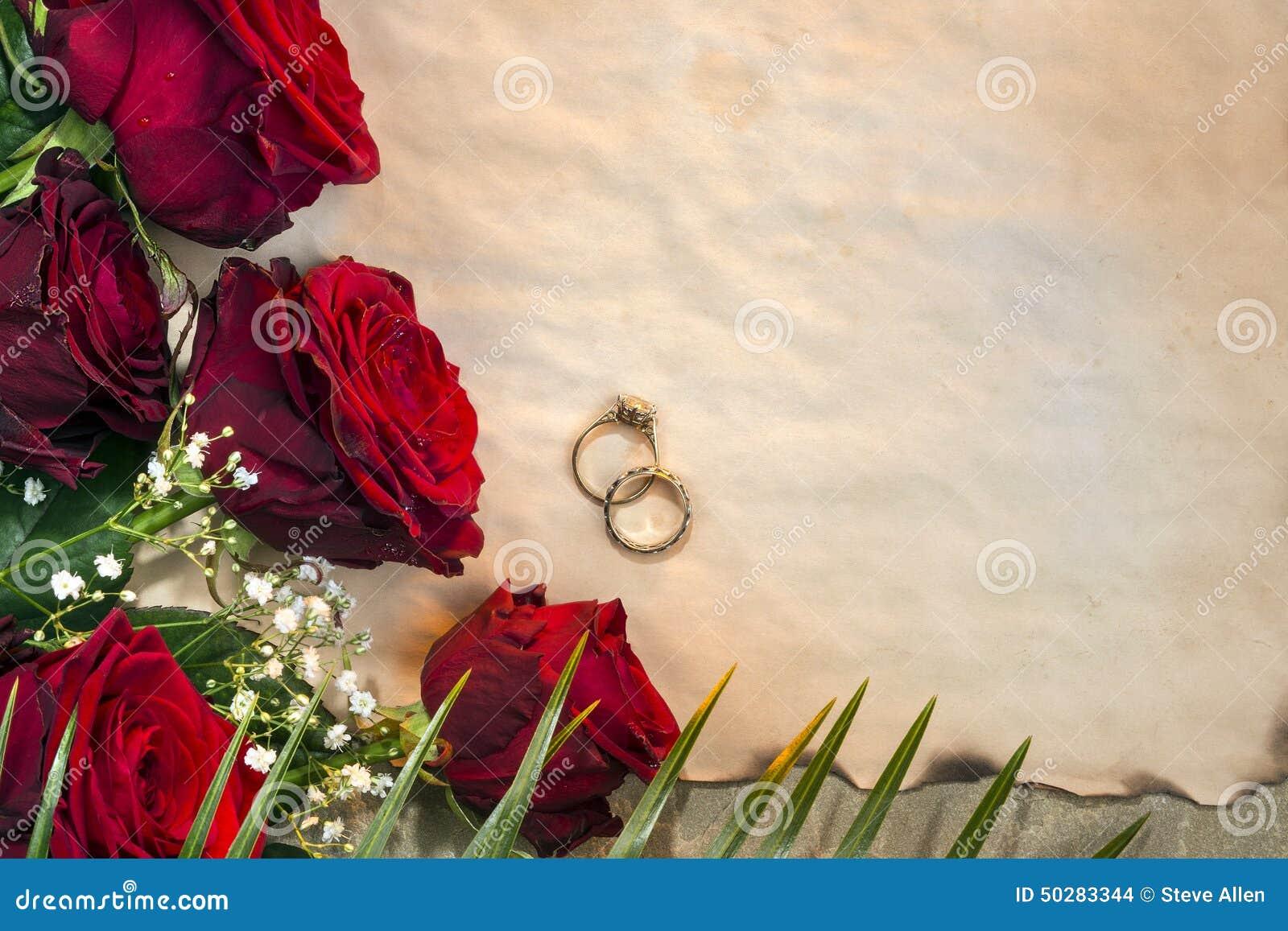 Rote Rosen sind als Symbol der Liebe häufig benutzt Hochzeitstag und ...