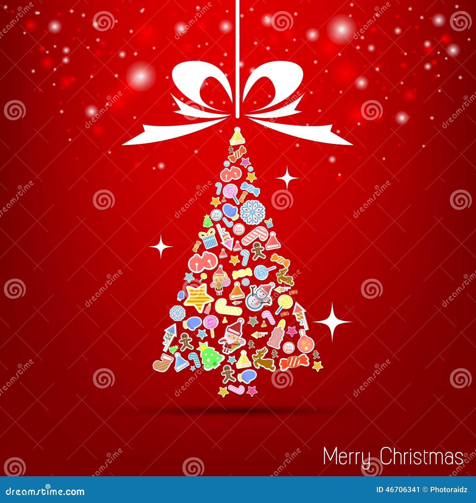 Rote Tapete Des Vektors Weihnachts Stock Abbildung - Illustration ...