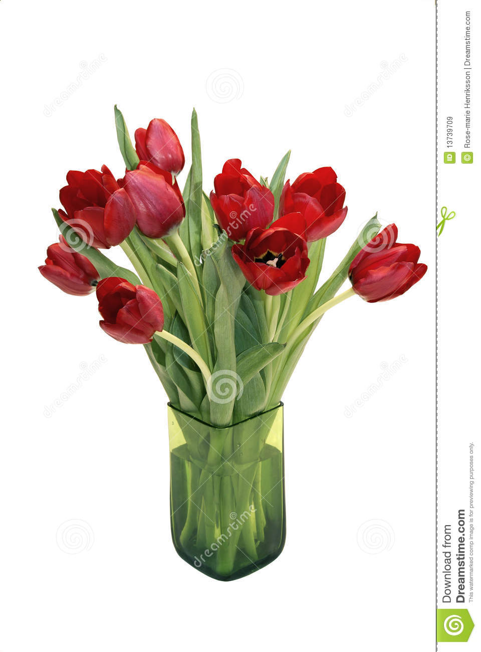 rote tulpen in einem vase lizenzfreie stockbilder bild 13739709. Black Bedroom Furniture Sets. Home Design Ideas