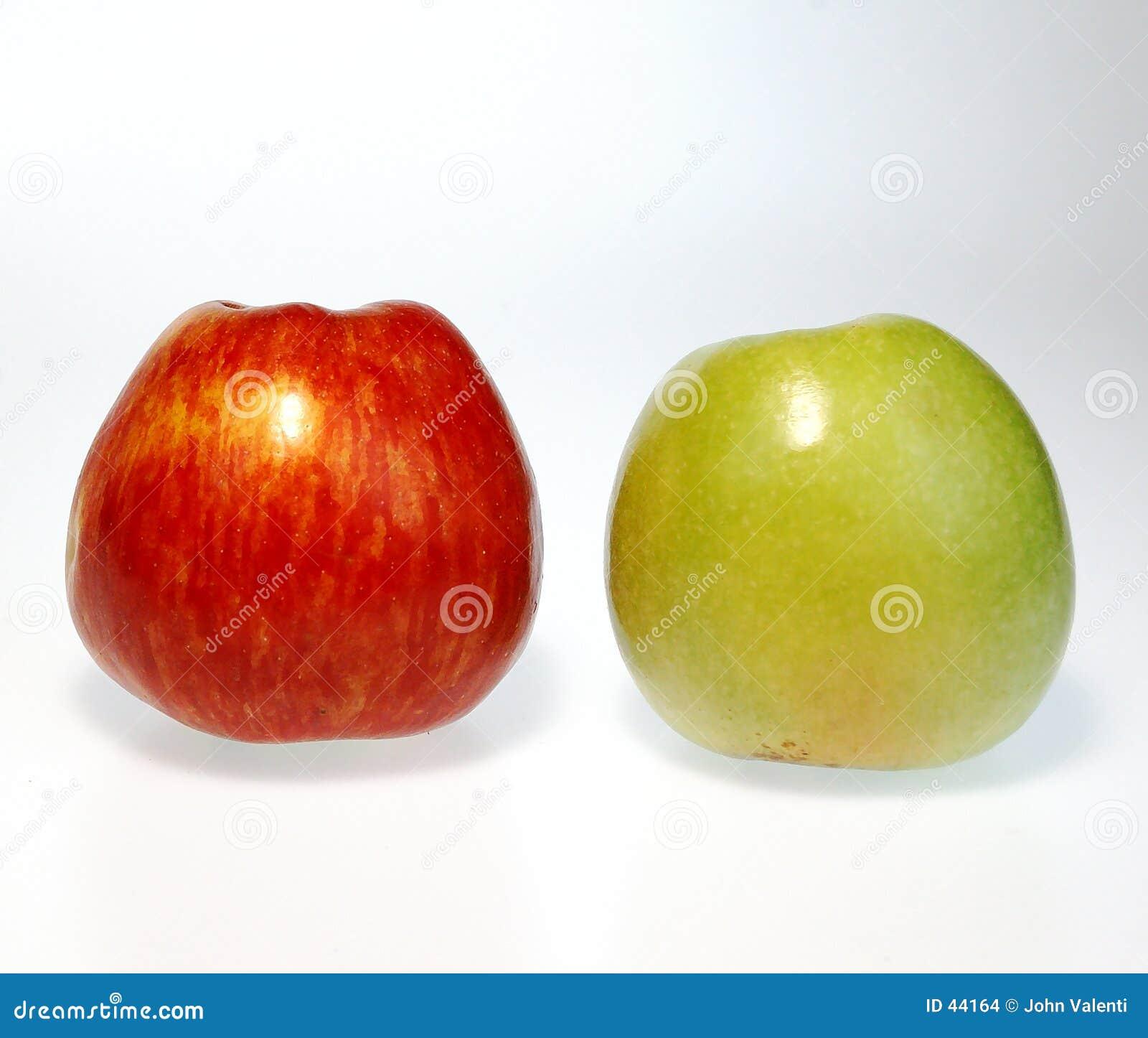 Rote u. grüne Äpfel