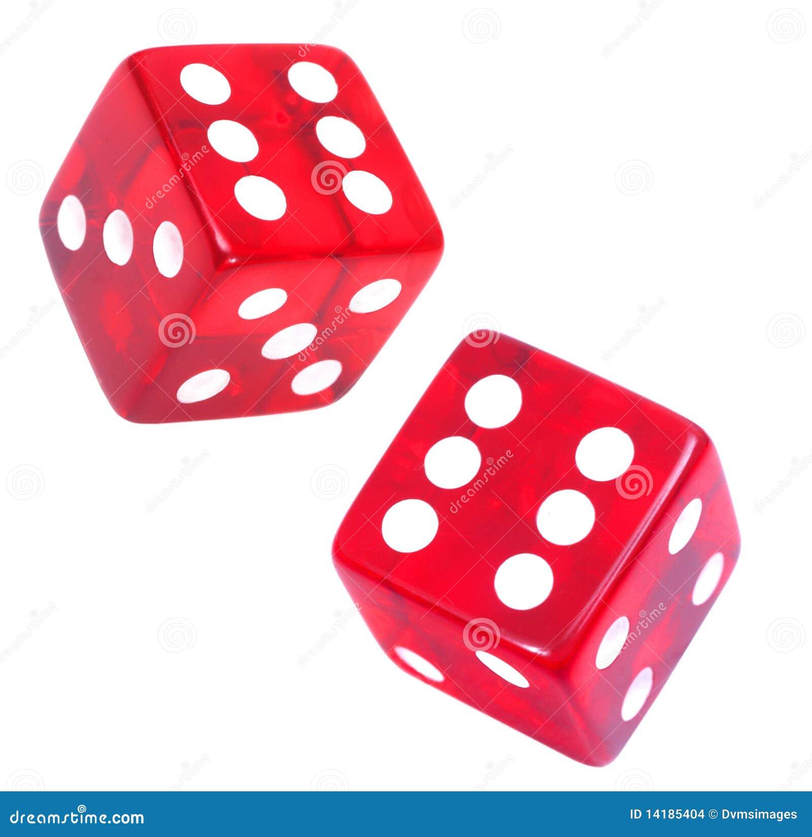 casino würfel rot