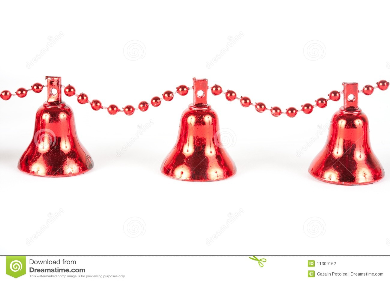 Rote Weihnachtsglocken
