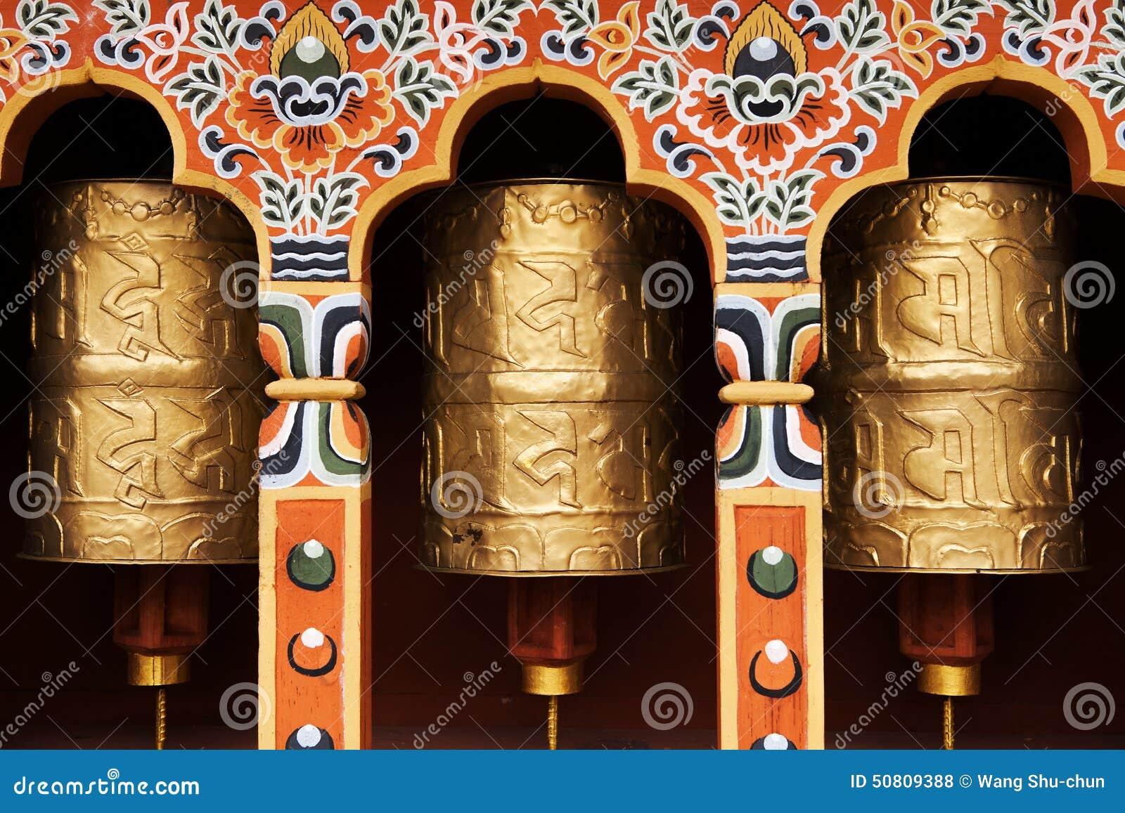 Rotelle di preghiera tibetane