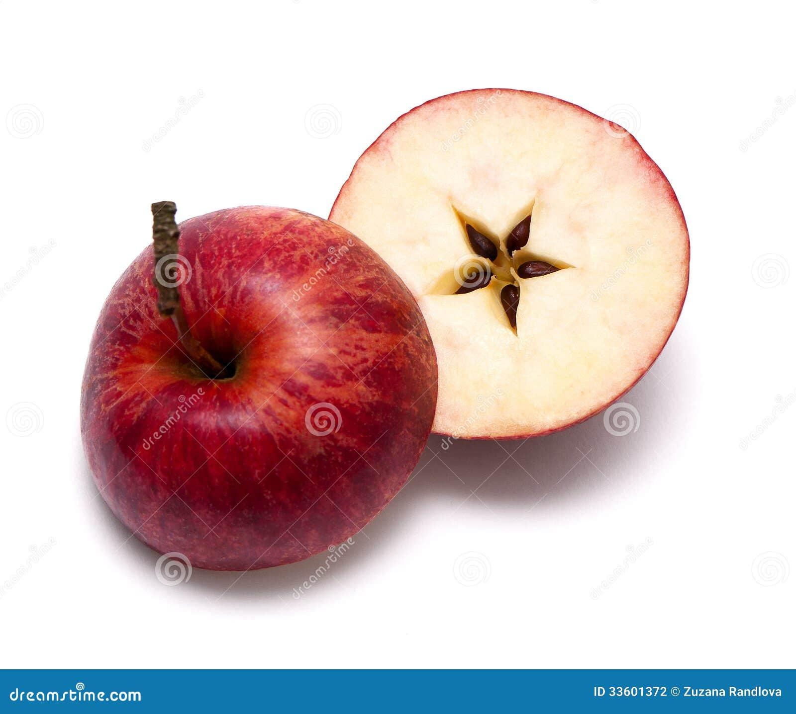 Roter Apfel. Weihnachten