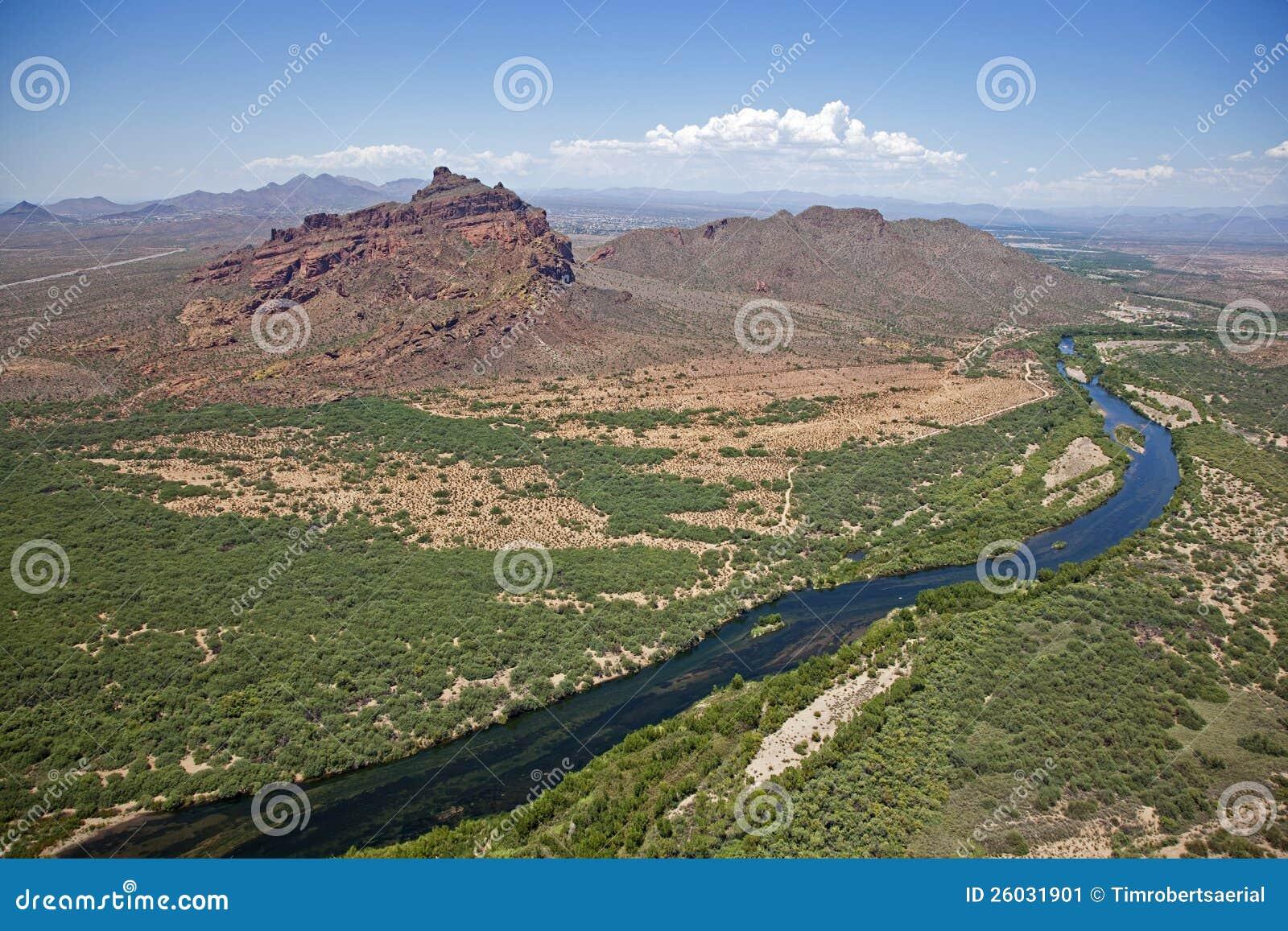 Roter Gebirgs-und Salz-Fluss
