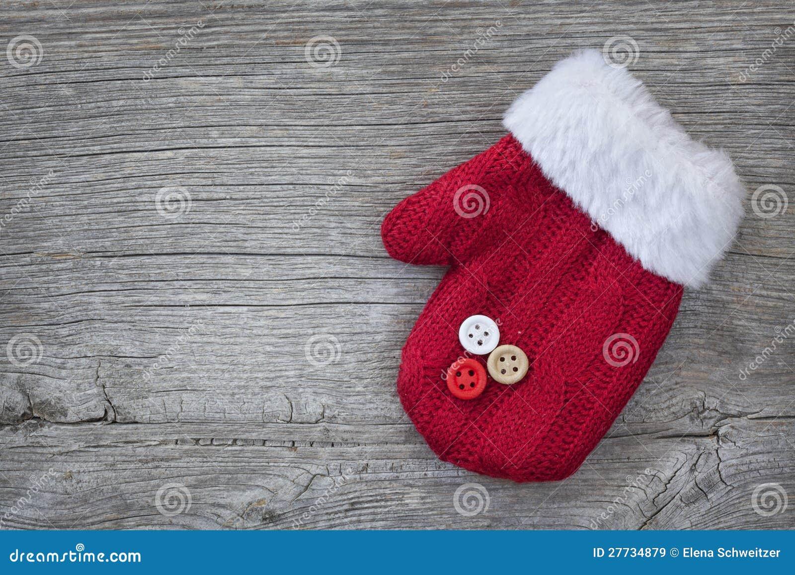 Roter Handschuh