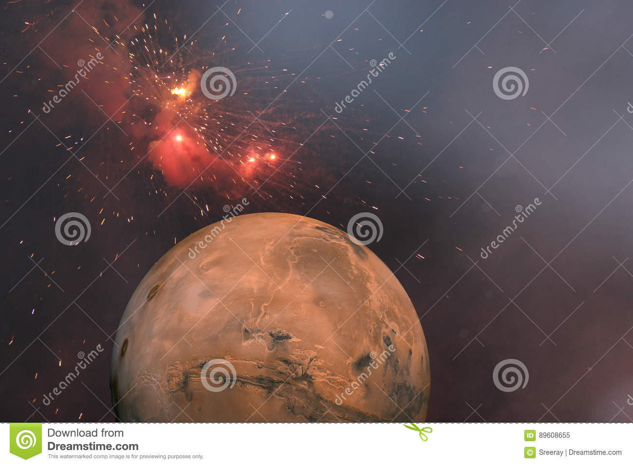 Roter Planet