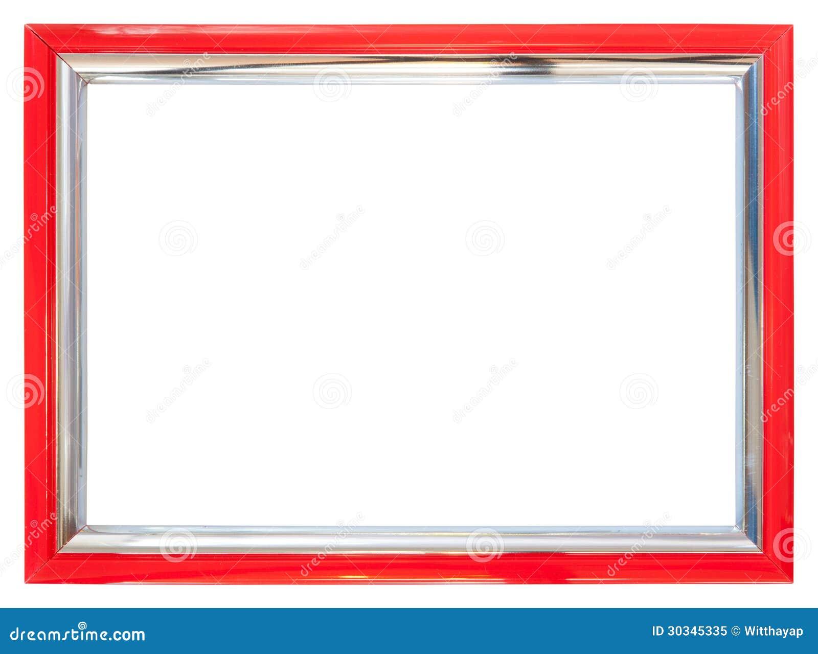 Roter Rahmen stockbild. Bild von feld, rand, schwarzes - 30345335