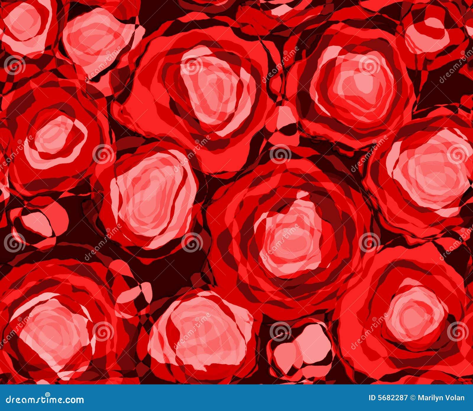 Roter Rose-Auszug