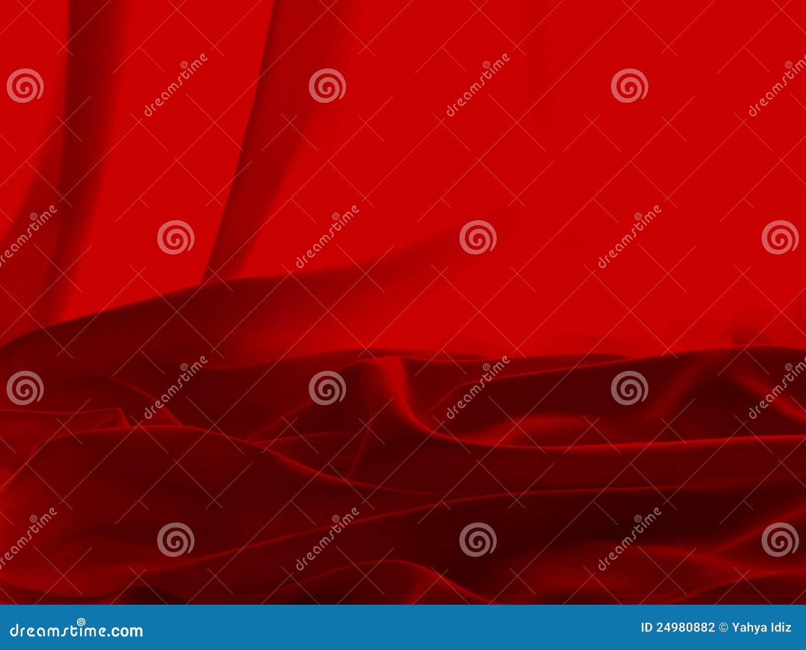 Roter Satin