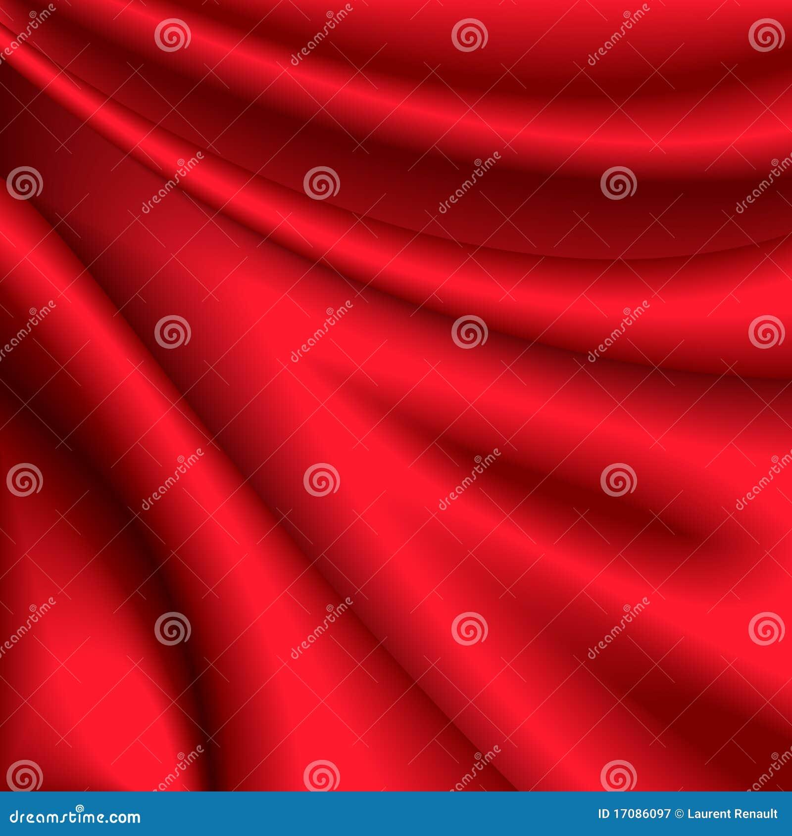 Roter silk Hintergrund