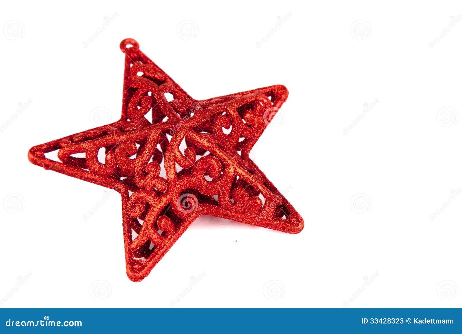 roter stern f r weihnachten stockbild bild 33428323. Black Bedroom Furniture Sets. Home Design Ideas