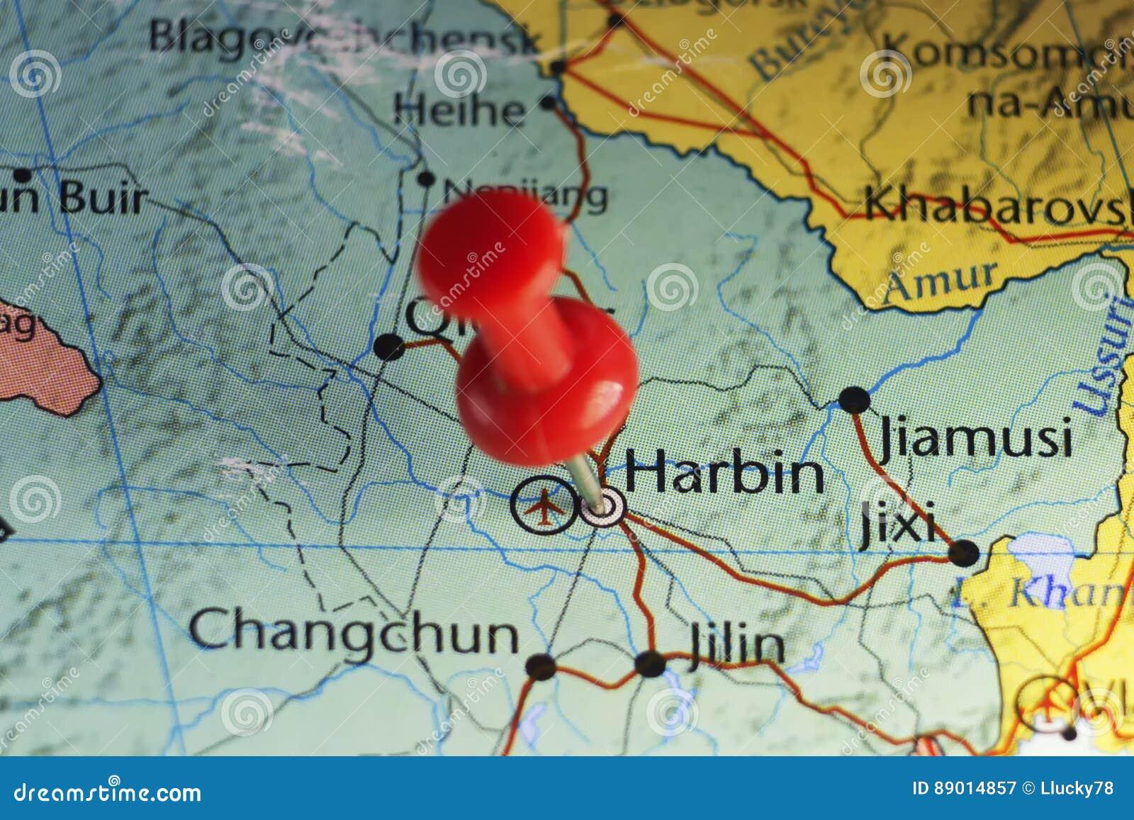 Roter Stift von Harbin, China