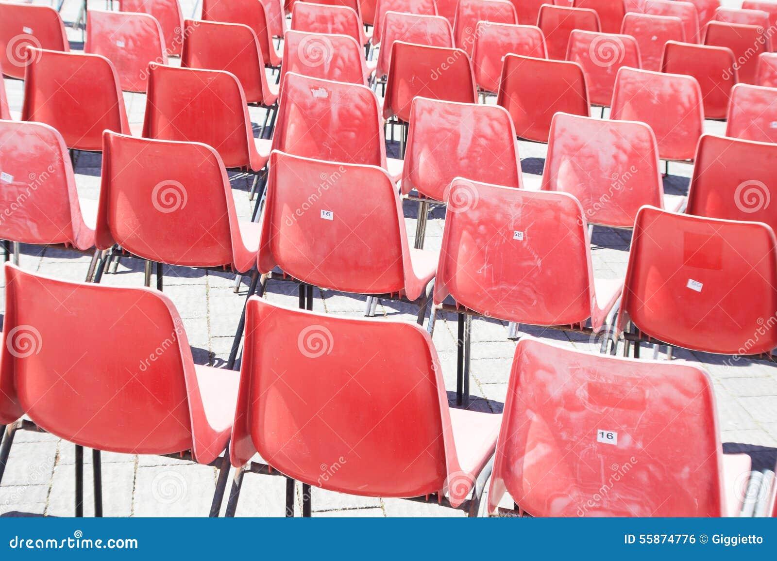 Roter Stuhl Gezeichnet Archivbilder Abgabe Des Download
