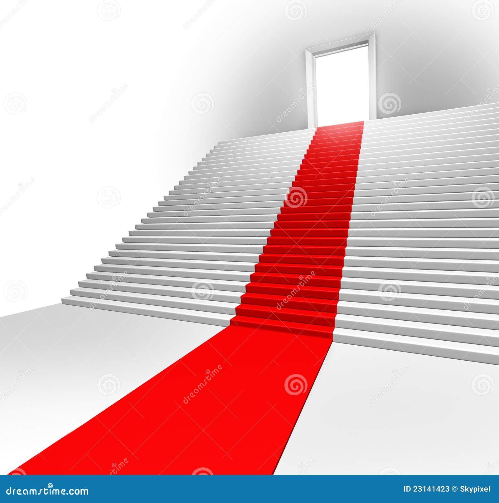 Roter TeppichEingang Stockfotos  Bild 23141423