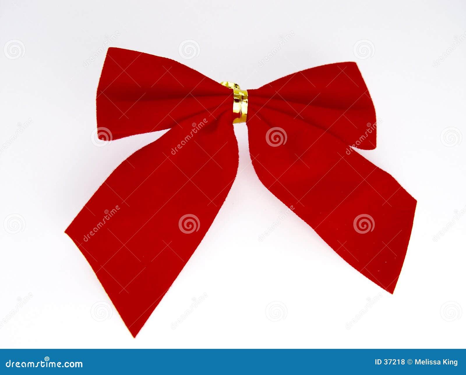 Roter Weihnachtsbogen
